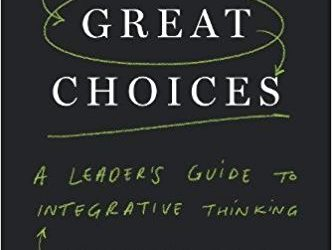 Review: Creating Great Choices