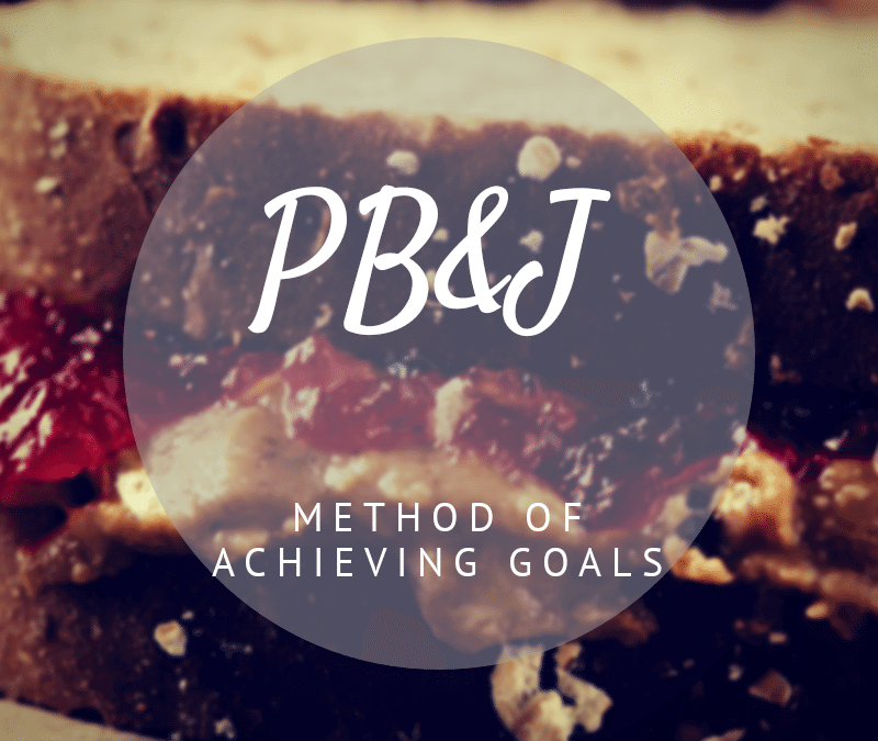 The Peanut Butter and Jelly Method of Achieving Goals