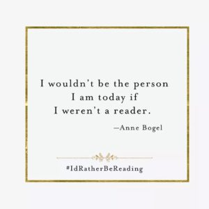 I'd Rather Be Reading Quote