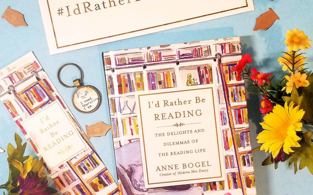'I'd Rather Be Reading' Book Is For YOU, Book Lovers!